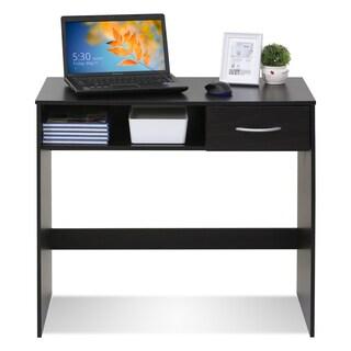 Furinno 15117EX Jaya Brown MDF Computer Study Desk