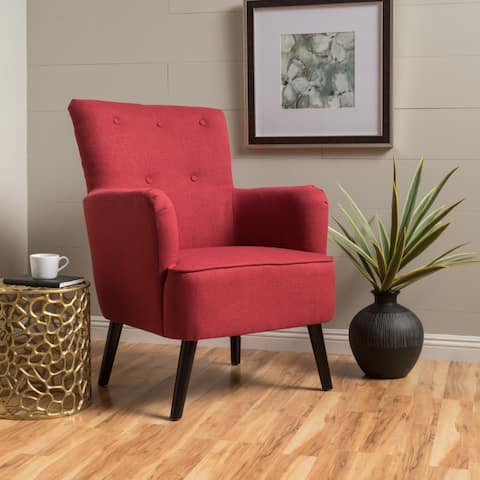 Kolin Fabric Arm Chair by Christopher Knight Home