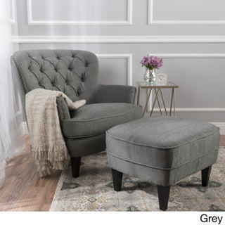 Buy Chair Ottoman Sets Living Room Chairs Online At Overstock Our Best Living Room Furniture Deals
