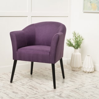 Cosette Fabric Arm Chair by Christopher Knight Home