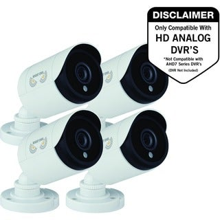 Night Owl CM-HDA10W-BU 2 Megapixel Surveillance Camera - 4 Pack - Col