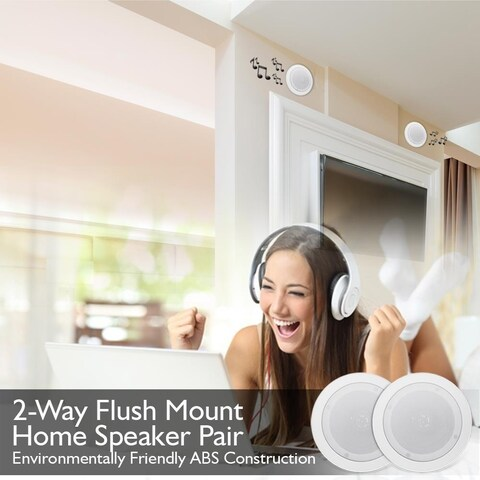 Pyle PDICBT552RD Speaker System - 150 W RMS - Wireless Speaker(s) - C