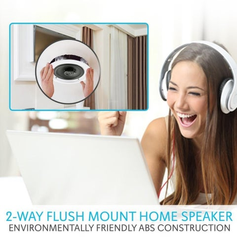 Pyle PDICBT652RD Speaker System - 200 W RMS - Wireless Speaker(s) - F