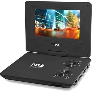 """Pyle PDV91BK Portable DVD Player - 9"""" Display - 800 x 480 - Black"""