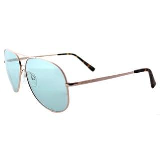 Michael Kors MK 5016 102665 Kendall Rose Gold Metal Aviator Teal Lens Sunglasses