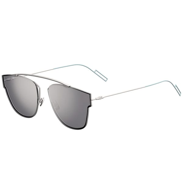 8638a134d08d Shop Dior Dior 0204 S 011 DC Matte Palladium Metal Round Silver Mirror Lens  Sunglasses - Free Shipping Today - Overstock - 13290106
