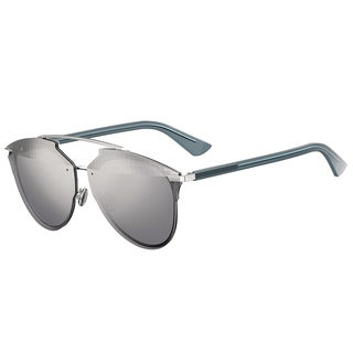 Dior Dior Reflected Prisim/S S60 RL Palladium Metal Aviator Grey Azure Prisim Mirror Lens Sunglasses