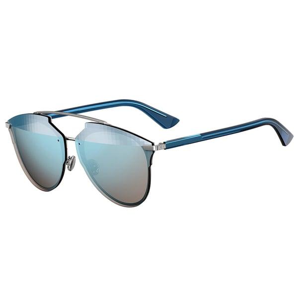 78f404b05c Dior Dior Reflected Prisim S S62 RQ Ruthenium Blue Metal Aviator Blue  Prisim Mirror Lens