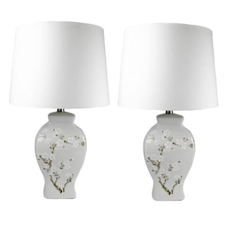 JT Lighting Lattia Handpainted Lamps (Set of 2)
