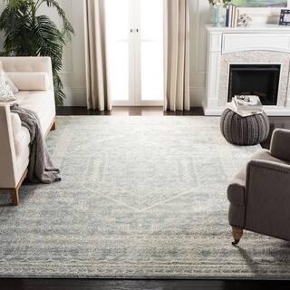 large living room rugs. Safavieh Adirondack Vintage Slate Grey  Ivory Large Area Rug 11 x Oversized Rugs For Less Overstock com