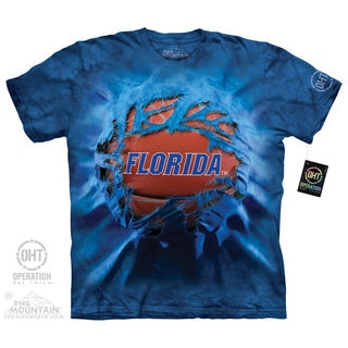 Men's The Mountain Florida Basketball Breatkthru T-shirt