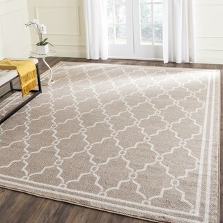 Safavieh Amherst Indoor/ Outdoor Wheat/ Beige Rug (11' x 16' Rectangle)