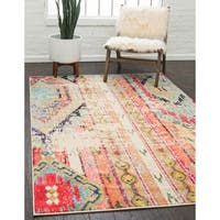Unique Loom Yosemite Sedona Area Rug - 5' x 8'