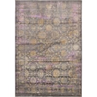 Unique Loom Saffle Aurora Area Rug - 6' x 9'