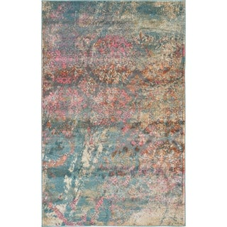 Stockholm Multi-colored Rug (4'11 x 8')