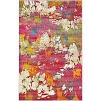 Unique Loom Amelie Lyon Area Rug - multi - 5' x 8'