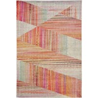 Unique Loom Quartz Lyon Area Rug - multi - 6' x 9'