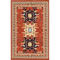Unique Loom Oasis Taftan Area Rug - 5' x 8'