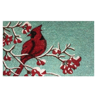 Cardinal Multicolor Vinyl-backed Coir Doormat (18 x 30)