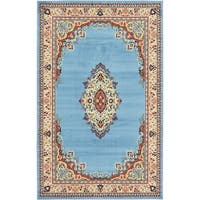 Unique Loom Washington Reza Area Rug - 5' x 8'