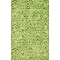 Unique Loom Lively Damask Area Rug - 5' x 8'