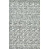 Unique Loom Rain Damask Area Rug - 5' x 8'