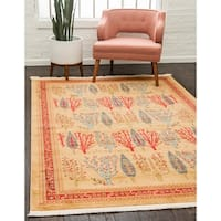 Unique Loom Mesquite Fars Area Rug - 5' x 8'