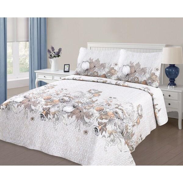 Journee Home 'Harvest' 3 pc Printed Quilt Set