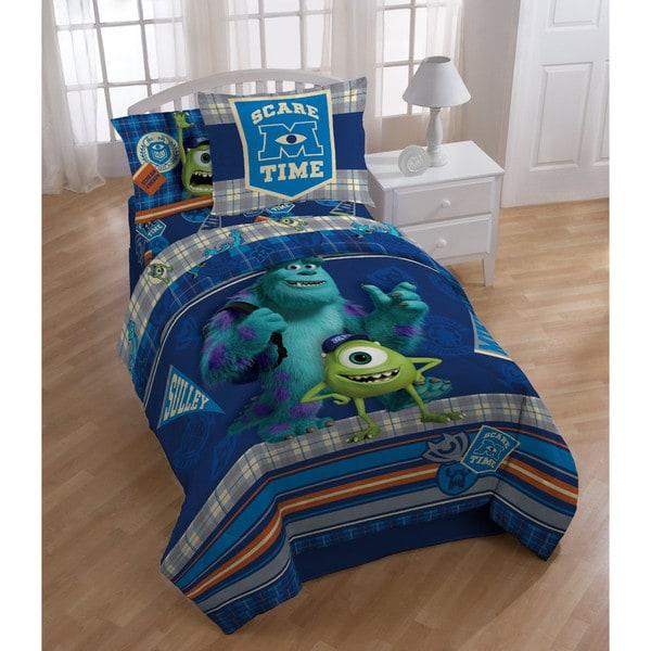 Disney Monsters University Scare-Care 4-piece Comforter Set