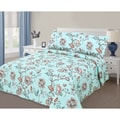 Journee Home 'Floral Day' 3 pc Printed Quilt Set