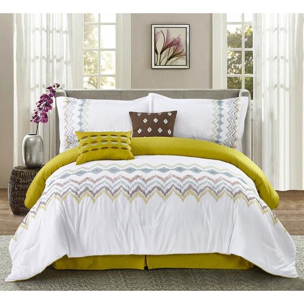 "Journee Home '' Daydream"" 6 pc Comforter Set"