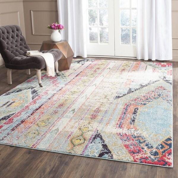 Living Room 12 X 18 safavieh monaco vintage bohemian multicolored distressed rug (12
