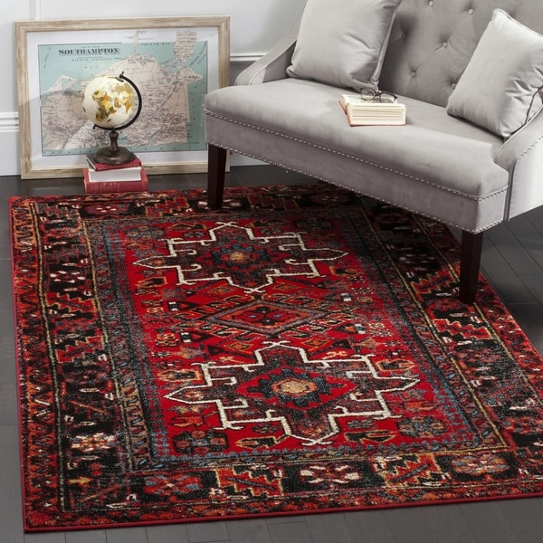 Safavieh Vintage Hamadan Traditional Red Multi Large Area Rug 11 X27