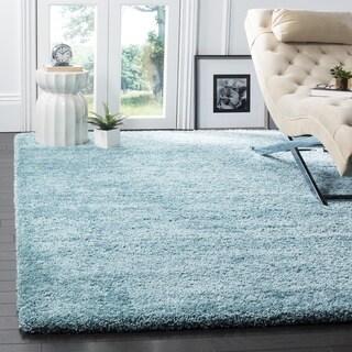 Safavieh Milan Shag Aqua Blue Rug (11' x 16')