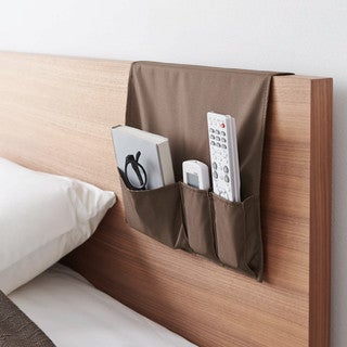 Smart Ivory/ Brown Couch Pocket by Yamazaki Home