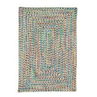 Stargaze Multi-Color Indoor/Outdoor Braided Reversible Rug USA MADE - 6' x 9'