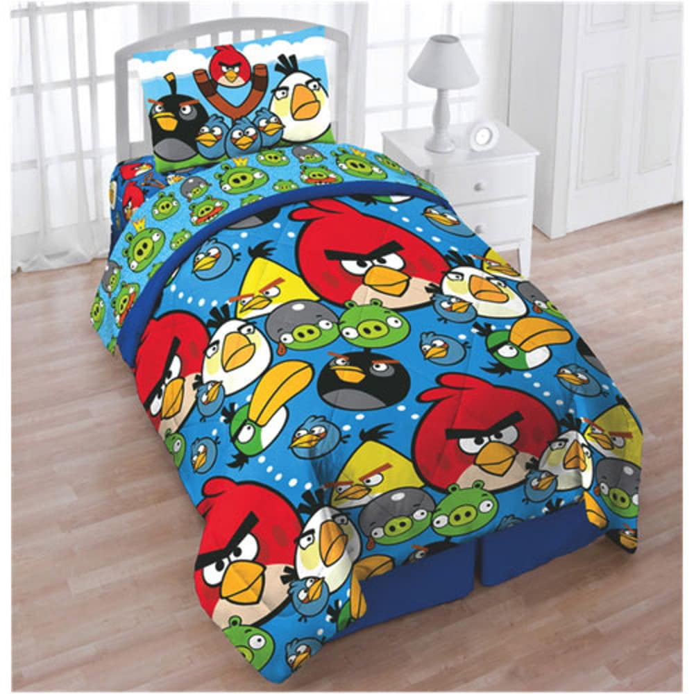 Angry Birds Twin/Full Comforter (Angry birds Twin/Full si...