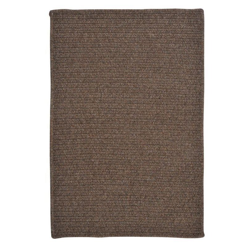 Colonial Mills Solid Heathered Braided Reversible Rug USA...