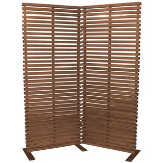 Aurelle Home Pasha Room Divider Natural