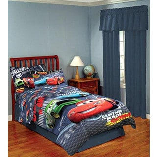Disney/Pixar Cars 'The Challenge is on' Full 7-piece Bed in a Bag with Sheet Set