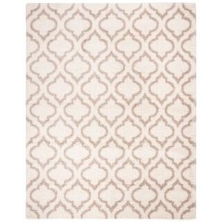 Safavieh Hudson Shag Moroccan Ivory/ Beige Rug (6' x 9')