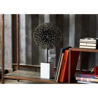Aurelle Home Nova Ball Metal Sculpture