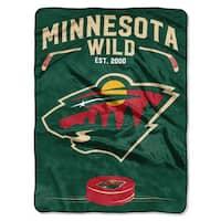 NHL 802 Wild Inspired Raschel