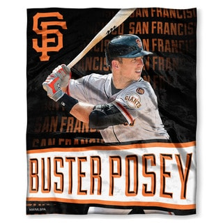 MLB 575 SF Giants Buster Posey Silk Touch Throw