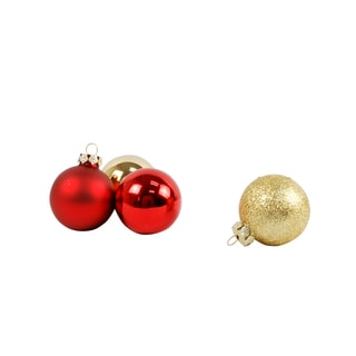 Assorted Glass Baubles (Case of 42)