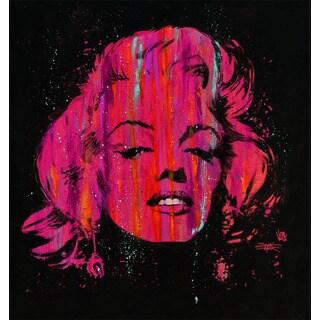 Stephen Fishwick 'Marilyn Pop Pink' Fine Art Giclee Wall Art
