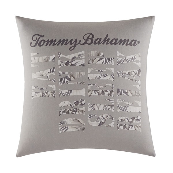 Shop Tommy Bahama Sandy Coast Ivory Cotton Decorative Pillow On Best Relax Decorative Pillow