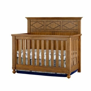 Brookdale 4-in-1 Pine Finish Convertible Crib