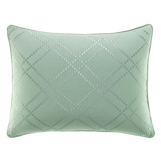 Tommy Bahama Serenity Palms Blue-green Cotton 14-inch x 20-inch Breakfast Pillow