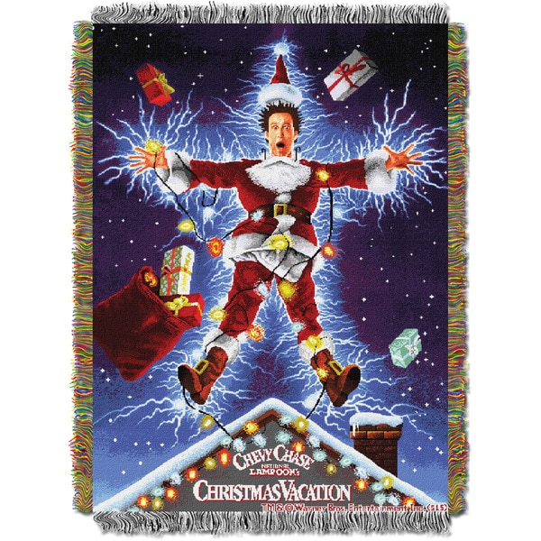 ENT 051 Christmas Vacation Shocking Chevy Tapestry Throw
